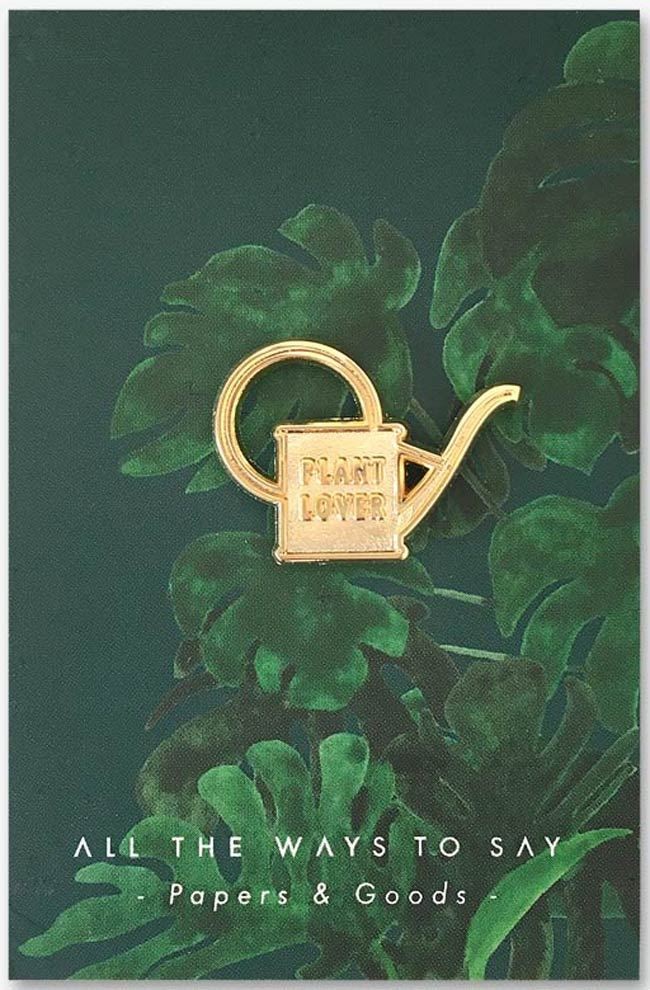Plant Lover Watercan Pin