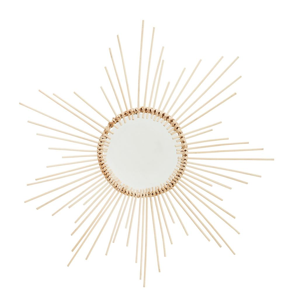 Spiegel mit Holzrahmen Medium