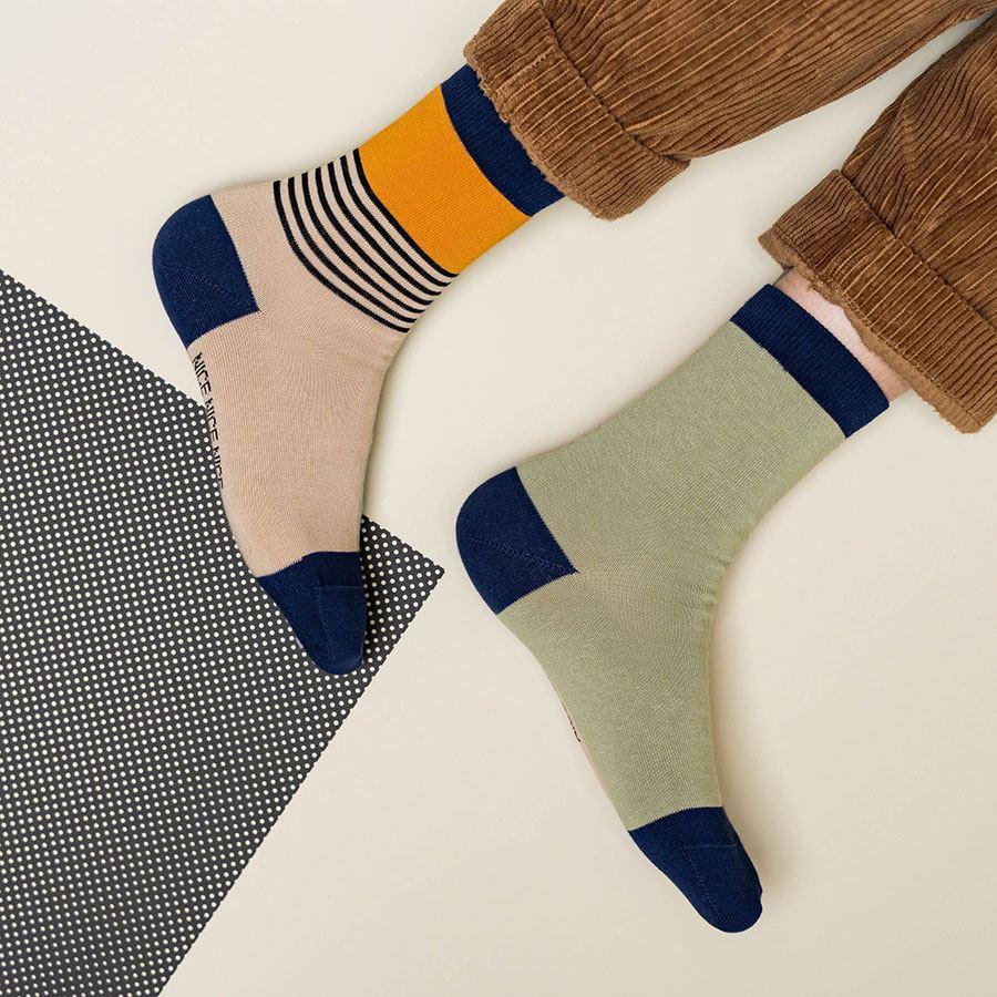 Nice Socks Halb/Halb Sand