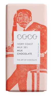 Mini Elfenbeinküste - Vollmilch Schokolade