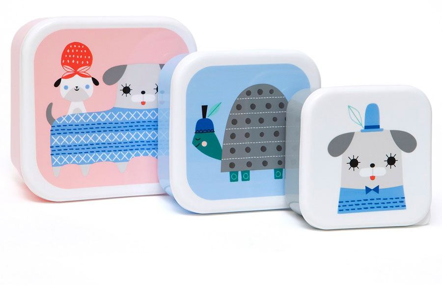 Peanut & Co. Lunchbox Set (3 St.)