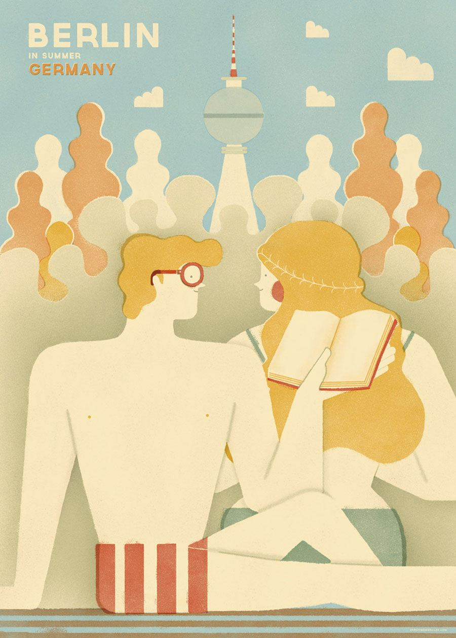 Berlin Poster #1 (50 x 70 cm)
