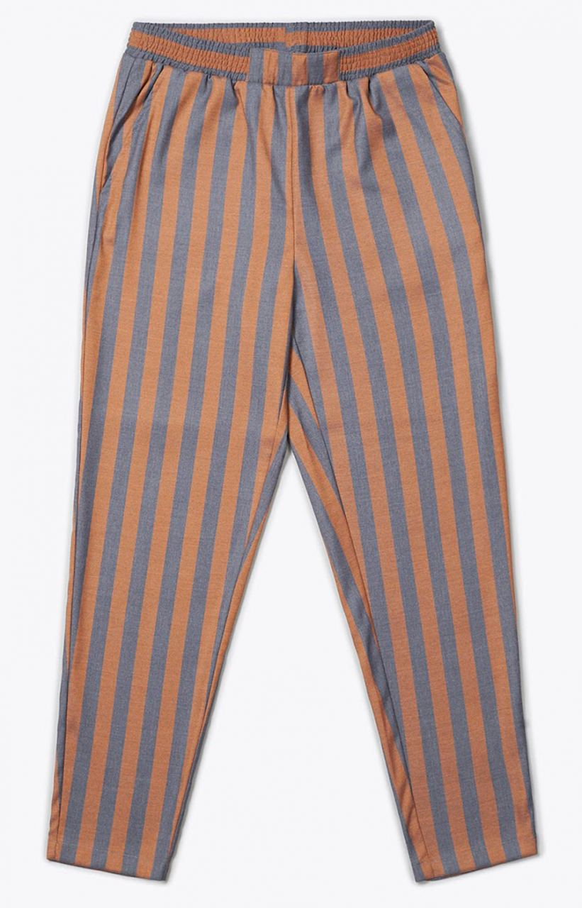 Iris Hose Grey Orange