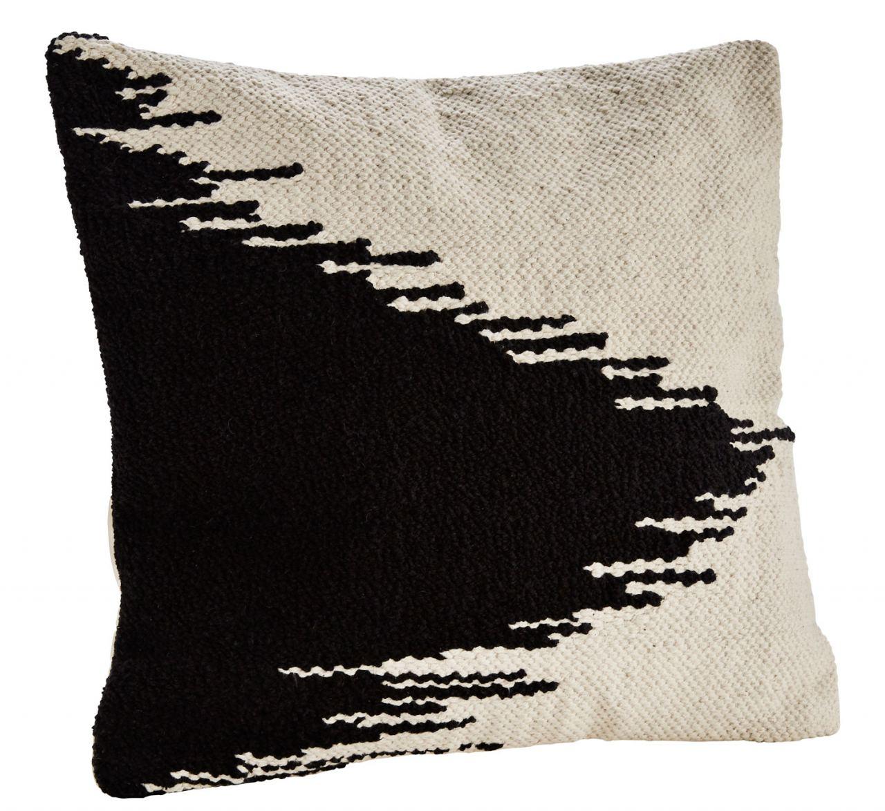 Off White Black Kissen (50 x 50cm)
