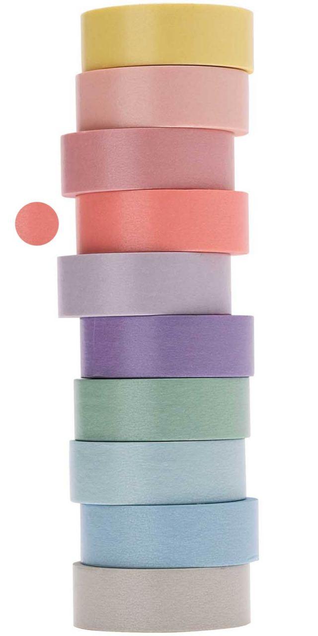 Tape Pastell-Lachsrosa