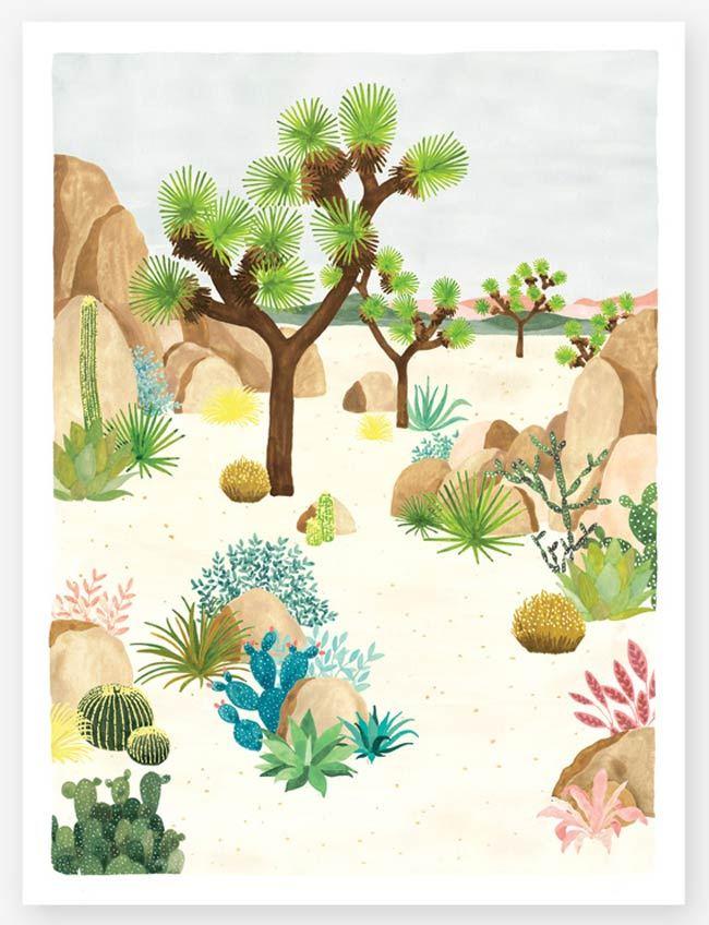 Joshua Tree Print (29,7 x 39,7cm)