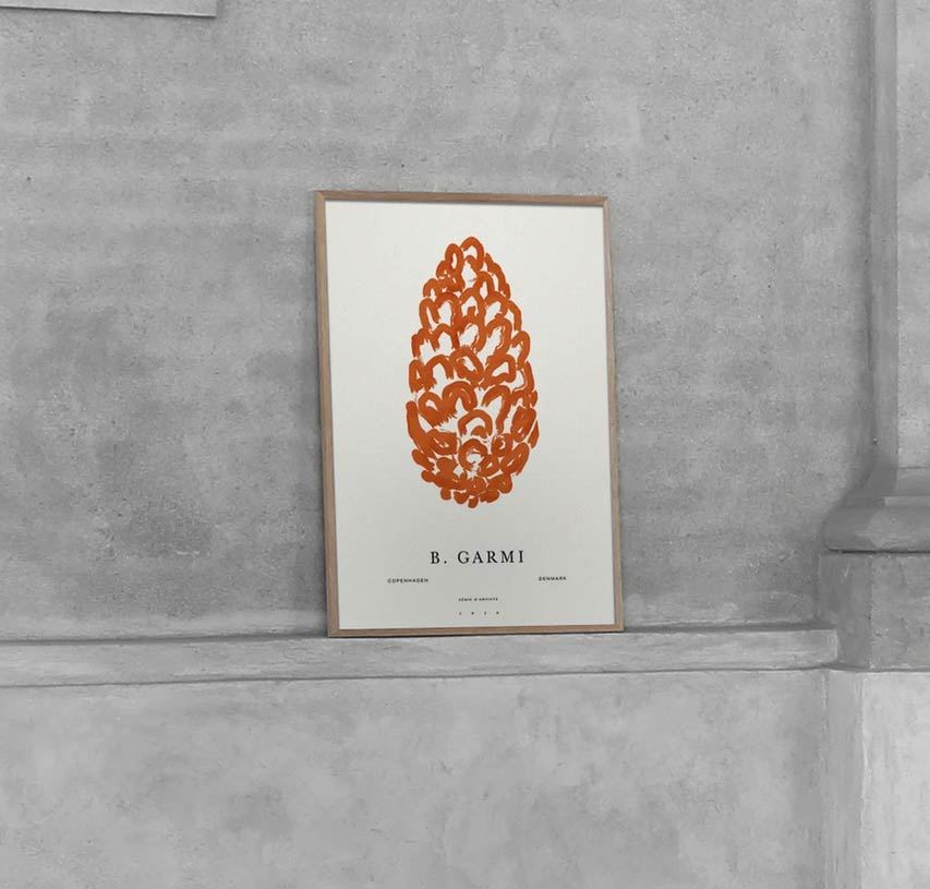 Pine Cone Poster (50 x 70 cm)