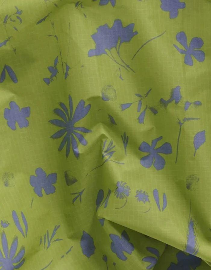 Einkaufsbeutel Lime Floral Sun