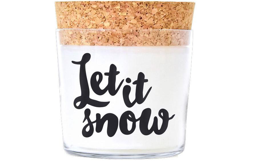 Duftkerze Let it snow