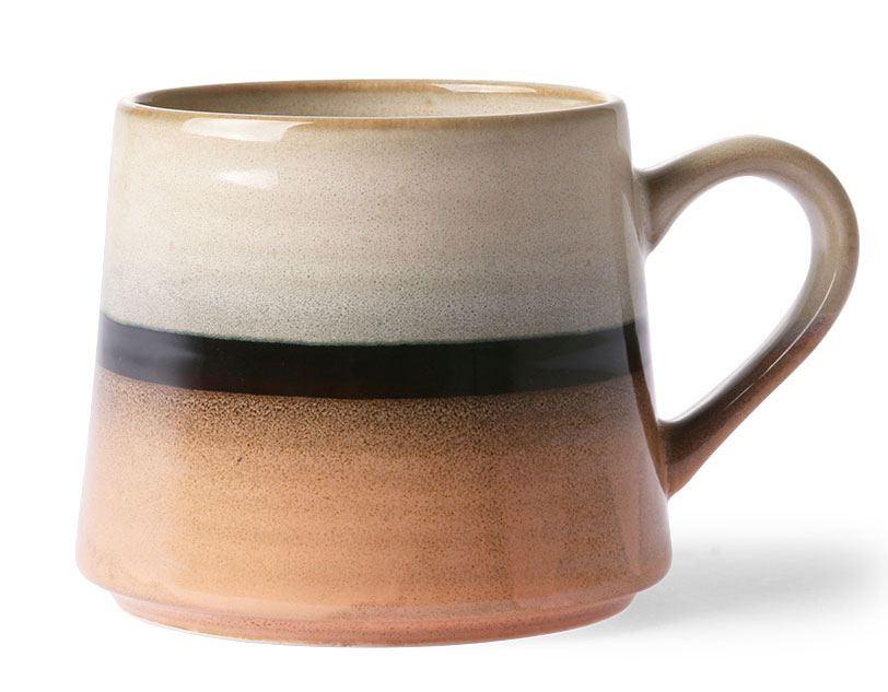 70's Tea Mug XL Tornado