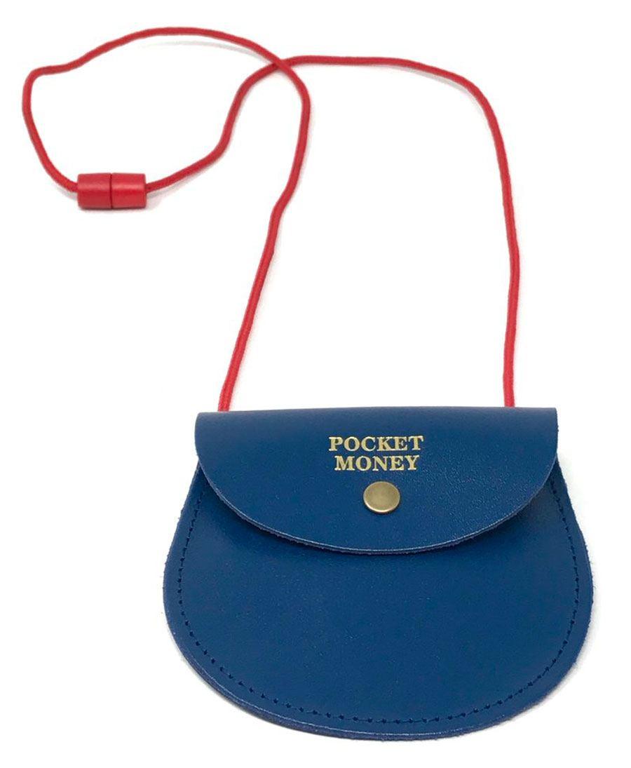Pocket Money Purse Navy Blue