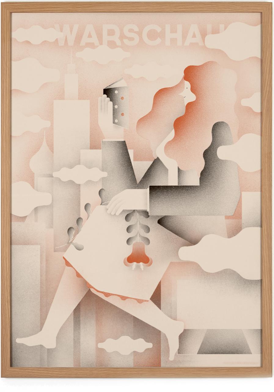 Warschau Poster #2 (50 x 70 cm)