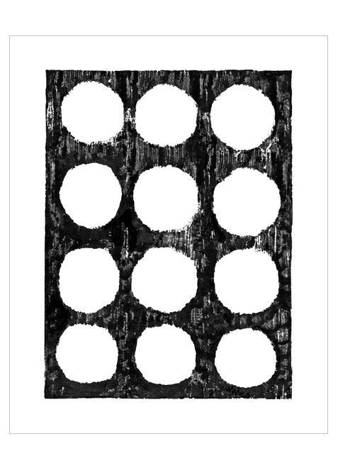 Punkte Groß Print (40x50cm)