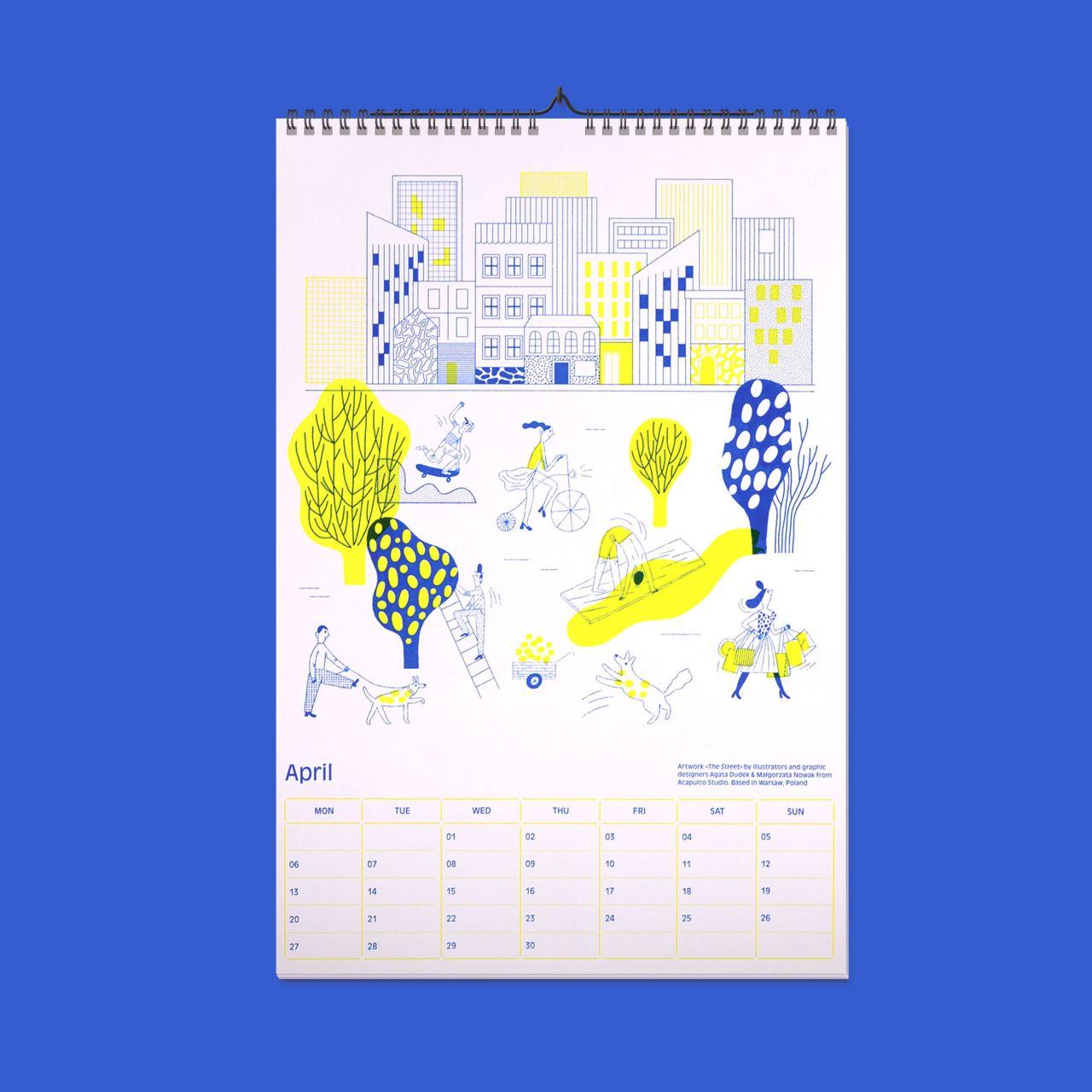 Kalender 2020 - Everyday Ornaments
