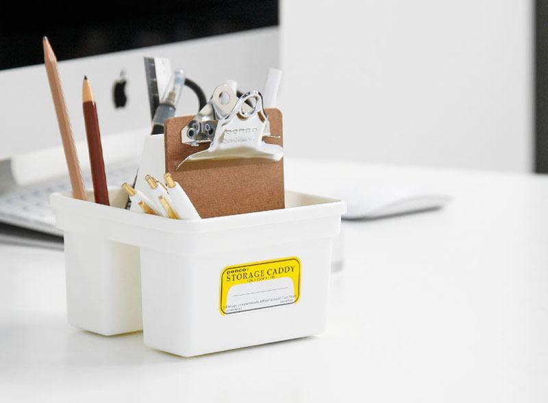 PENCO Storage Caddy Small White
