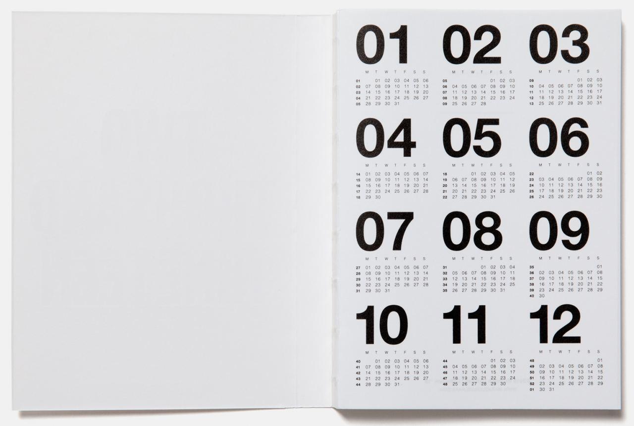 Taschenkalender 2019 White / Black Foil