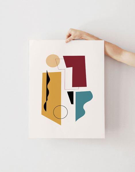 Concerto Ocre Poster (30 x 40 cm)