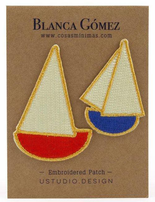 Blanca Gómez Segelboote Patch