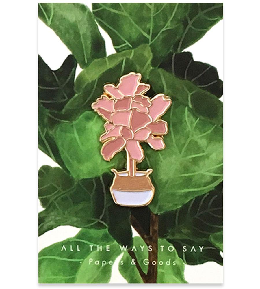 Fiddle Leaf Fig Pin