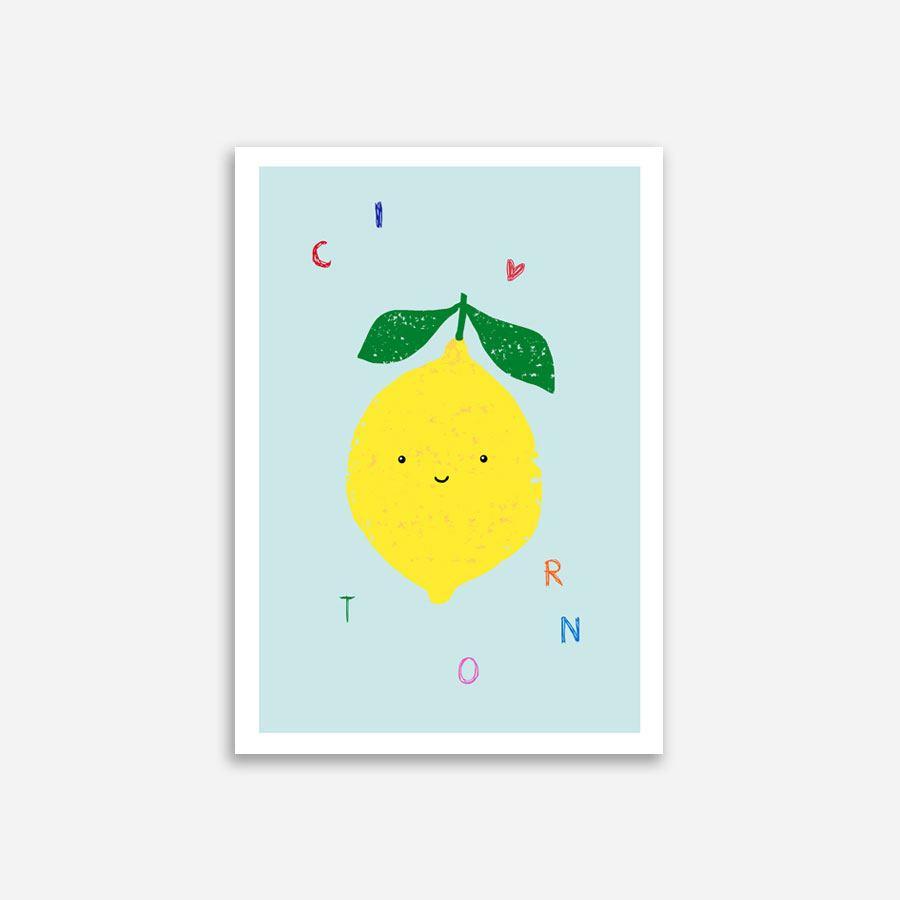 Citron Poster (Din A4)