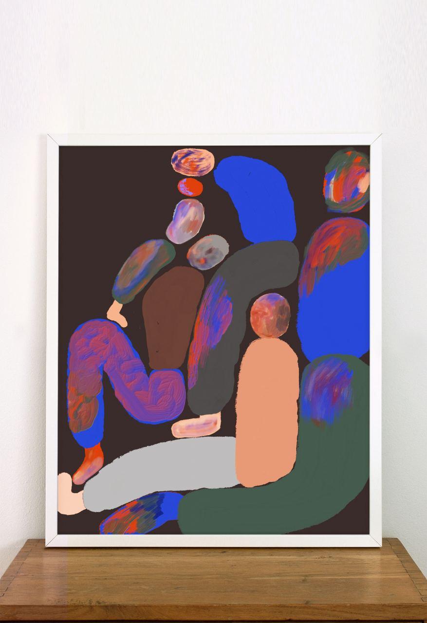 Family FineArt Print (40 x 50cm)