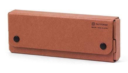 Pasco PULP Pen Case Orange Tan