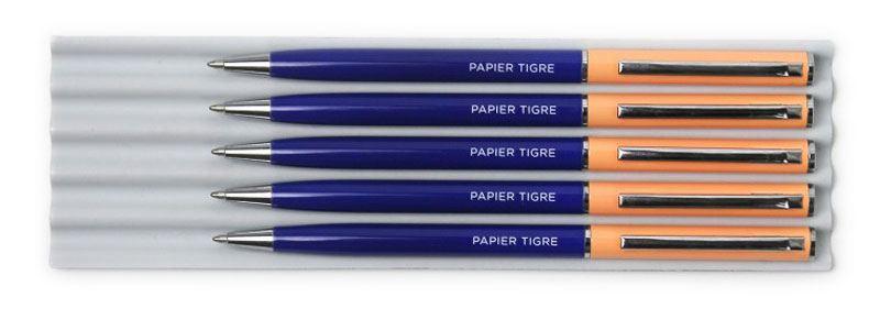 Papier Tigre Kugelschreiber Cobalt Salmon