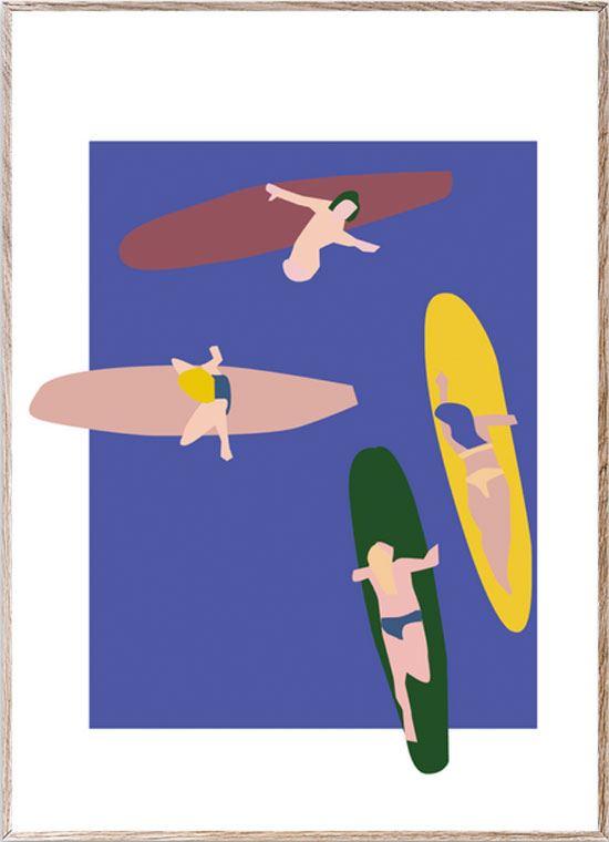 Surfers Print (30x40cm)