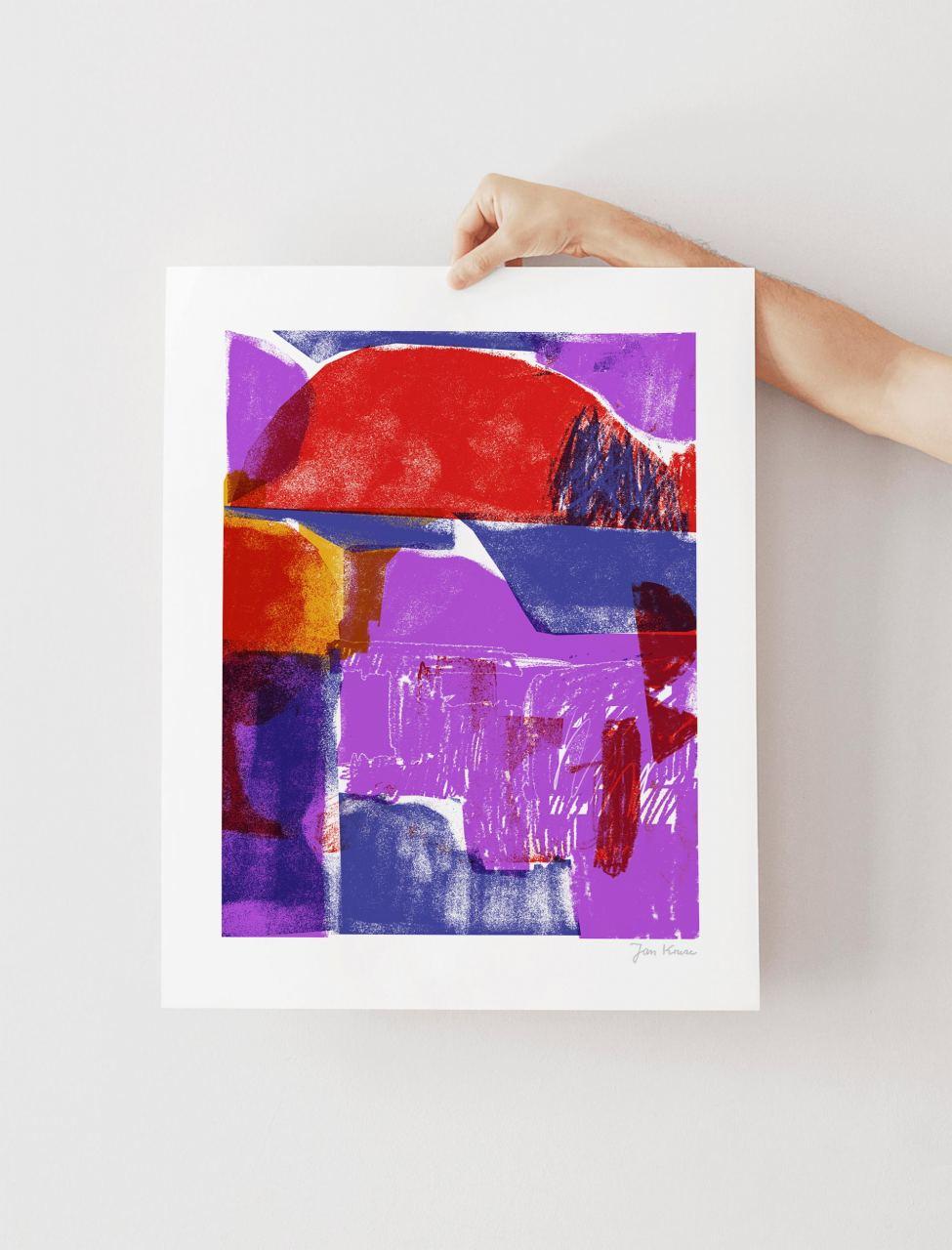 Mountain FineArt Print (40 x 50cm)