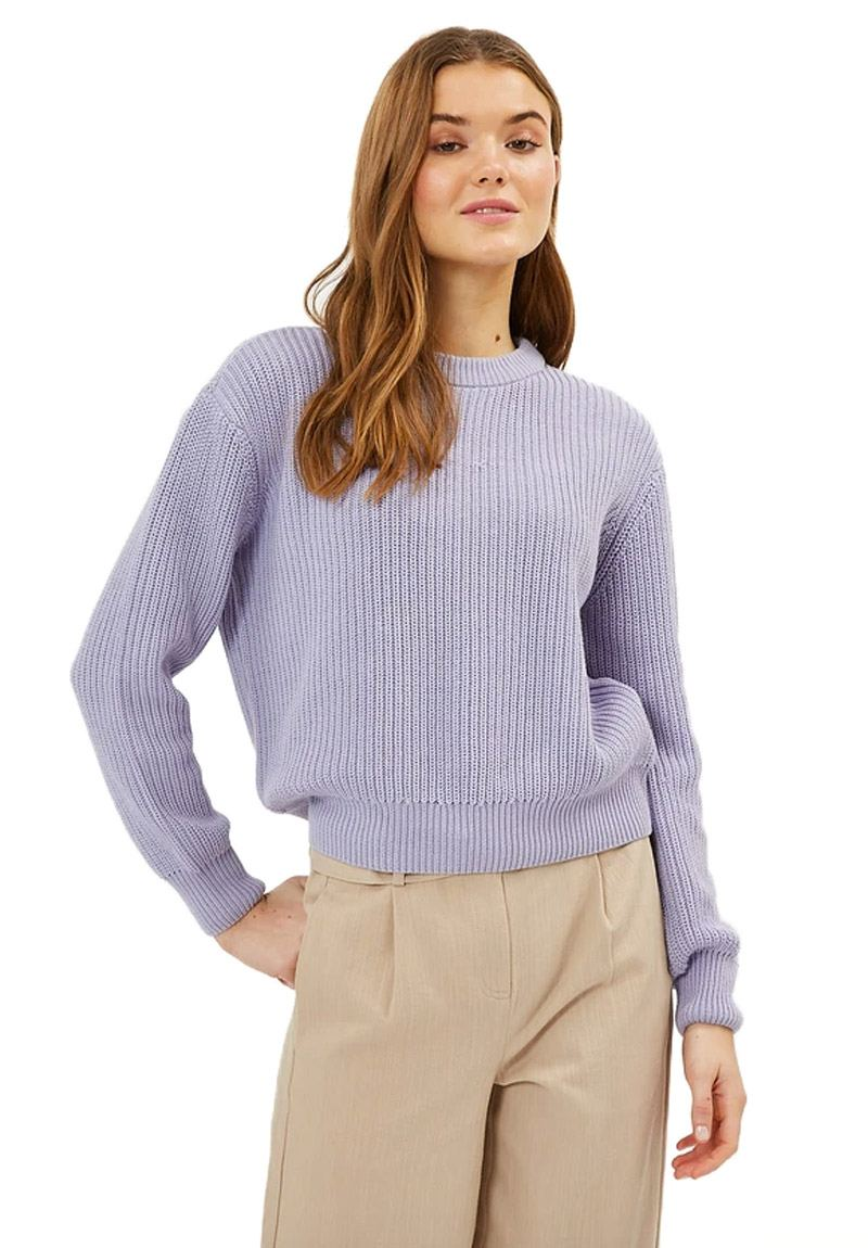 Mikala Strickpullover Languid Lavender