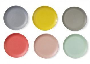 Plate M Pastel