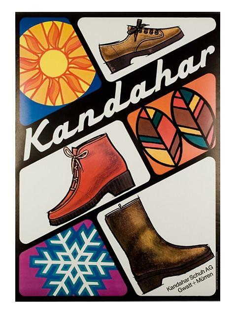 Kandahar Schuhe (128x90cm)