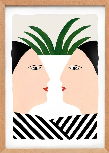 Face to Face Print (A3)