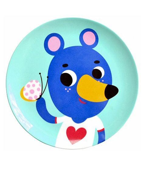 Mint Blue Bear Teller (∅ 20cm)