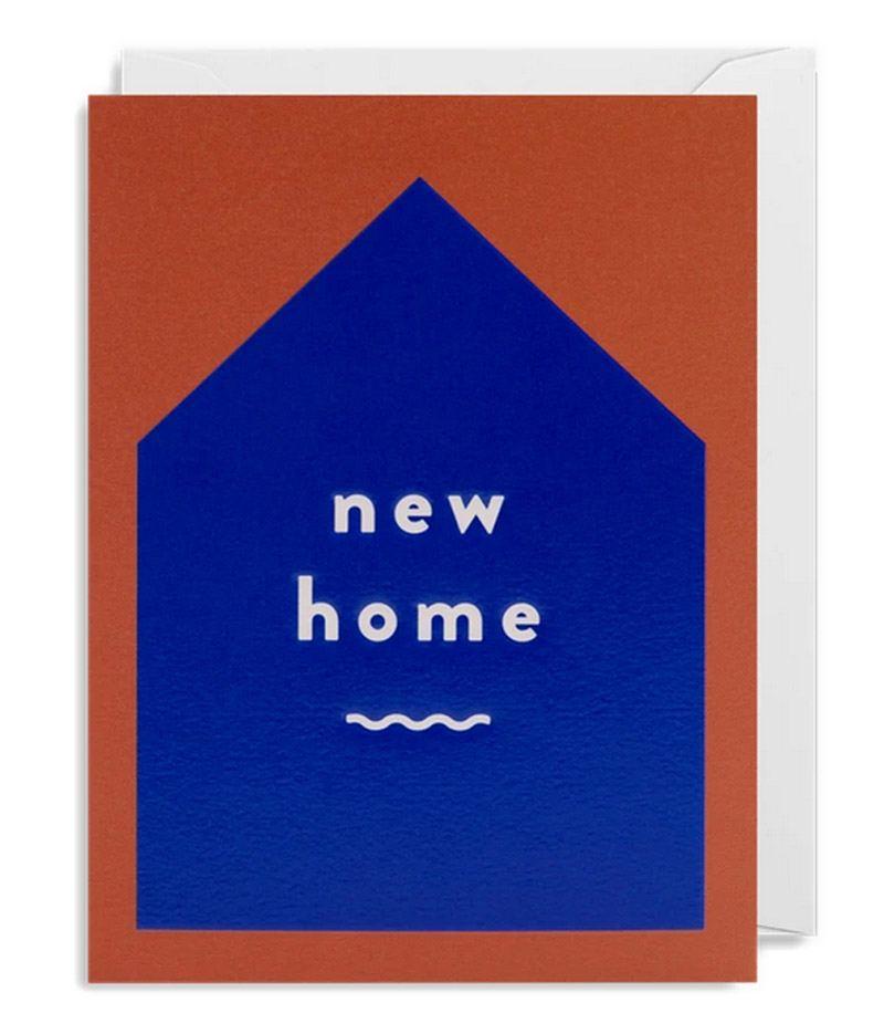 Cozy New Home Klappkarte
