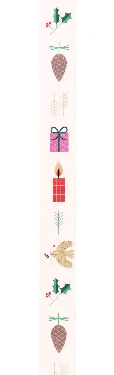 Tape Christmas Weihnachtsmotiv Weiß