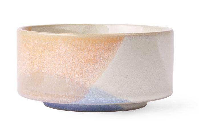 Gallery Bowl Blue/Peach