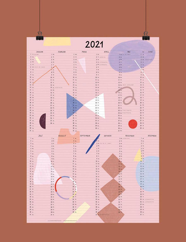 Anna K. Jansen Posterkalender 2021