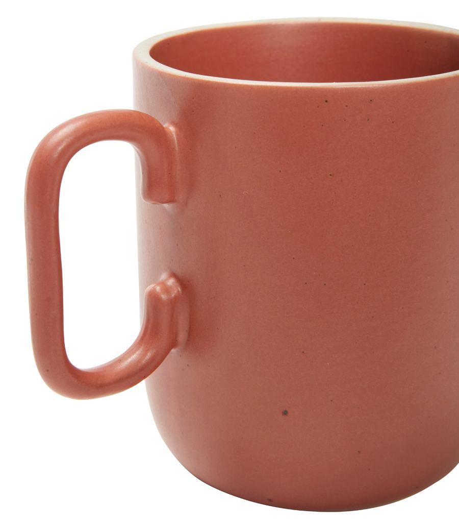 Becher Keramik Rot