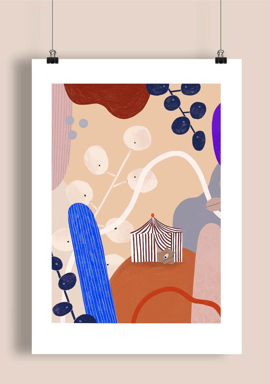 Bear Print (Din A3)