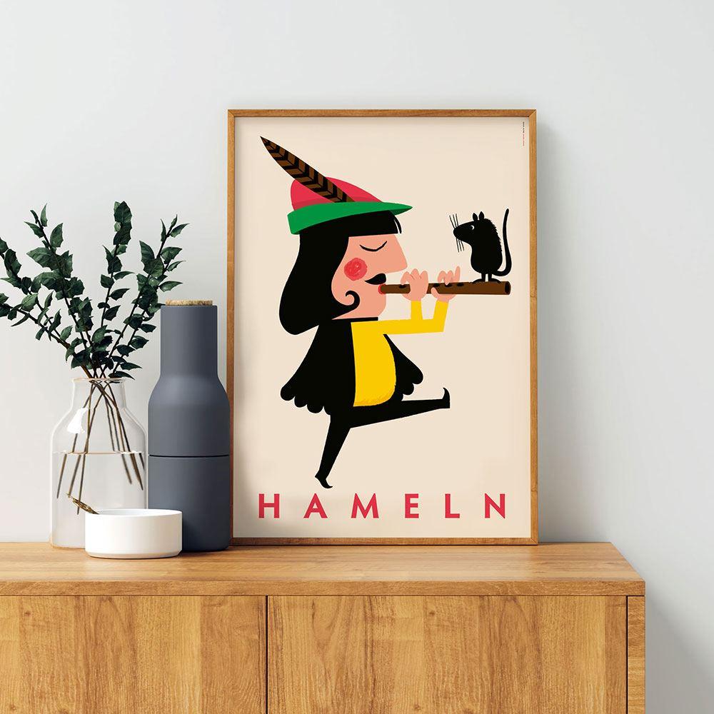 Der Rattenfänger von Hameln Poster (DIN A3)
