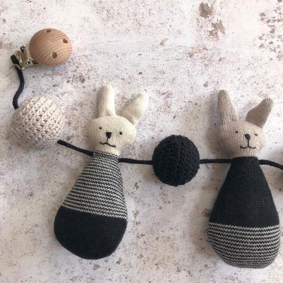 Rabbit Kinderwagenkette