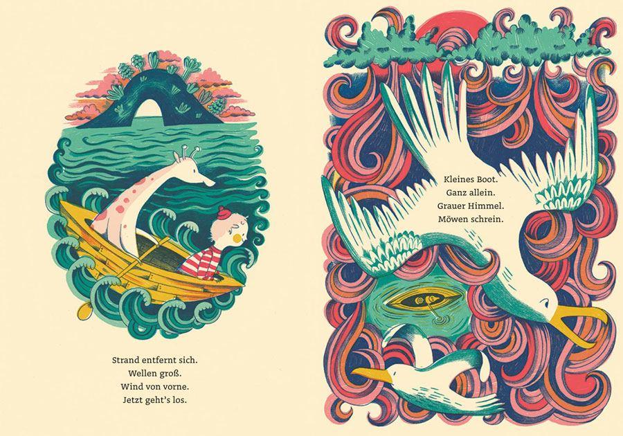 Kleines Boot, weites Meer