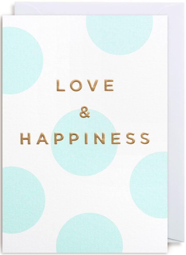 Love & Happiness Karte