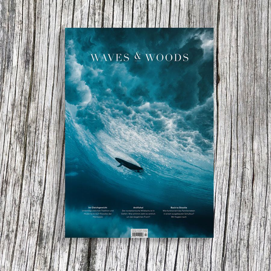 Waves & Woods No. 13