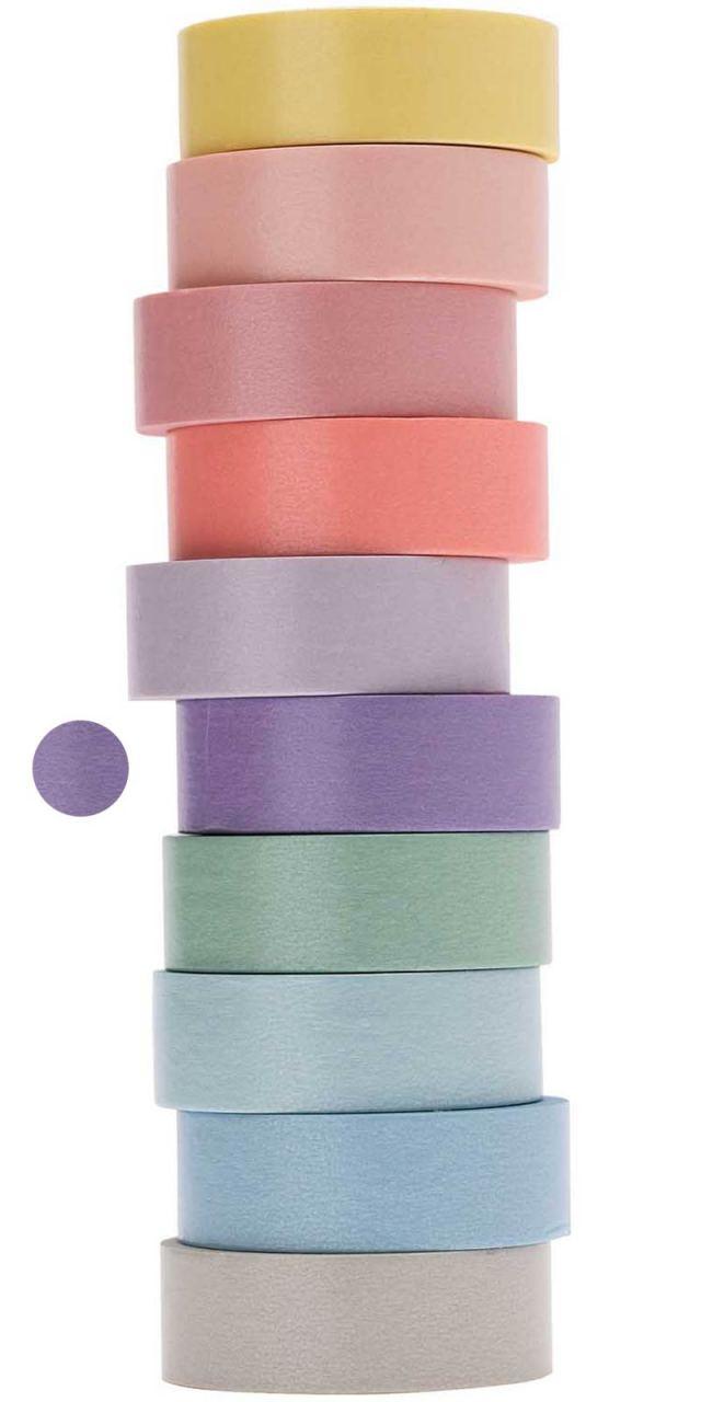 Tape Pastell-Flieder Dunkel
