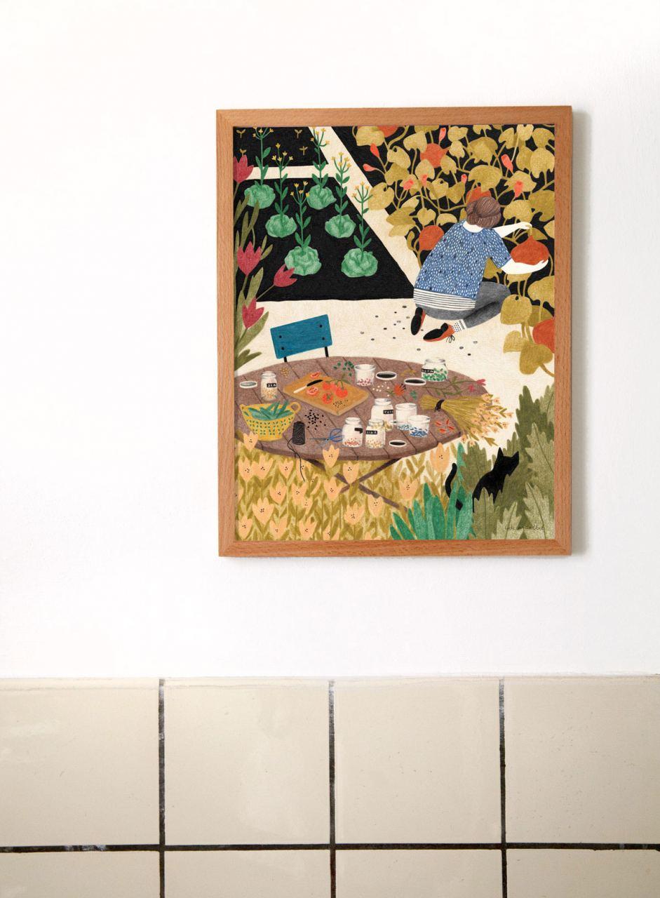 Pompoenen Print