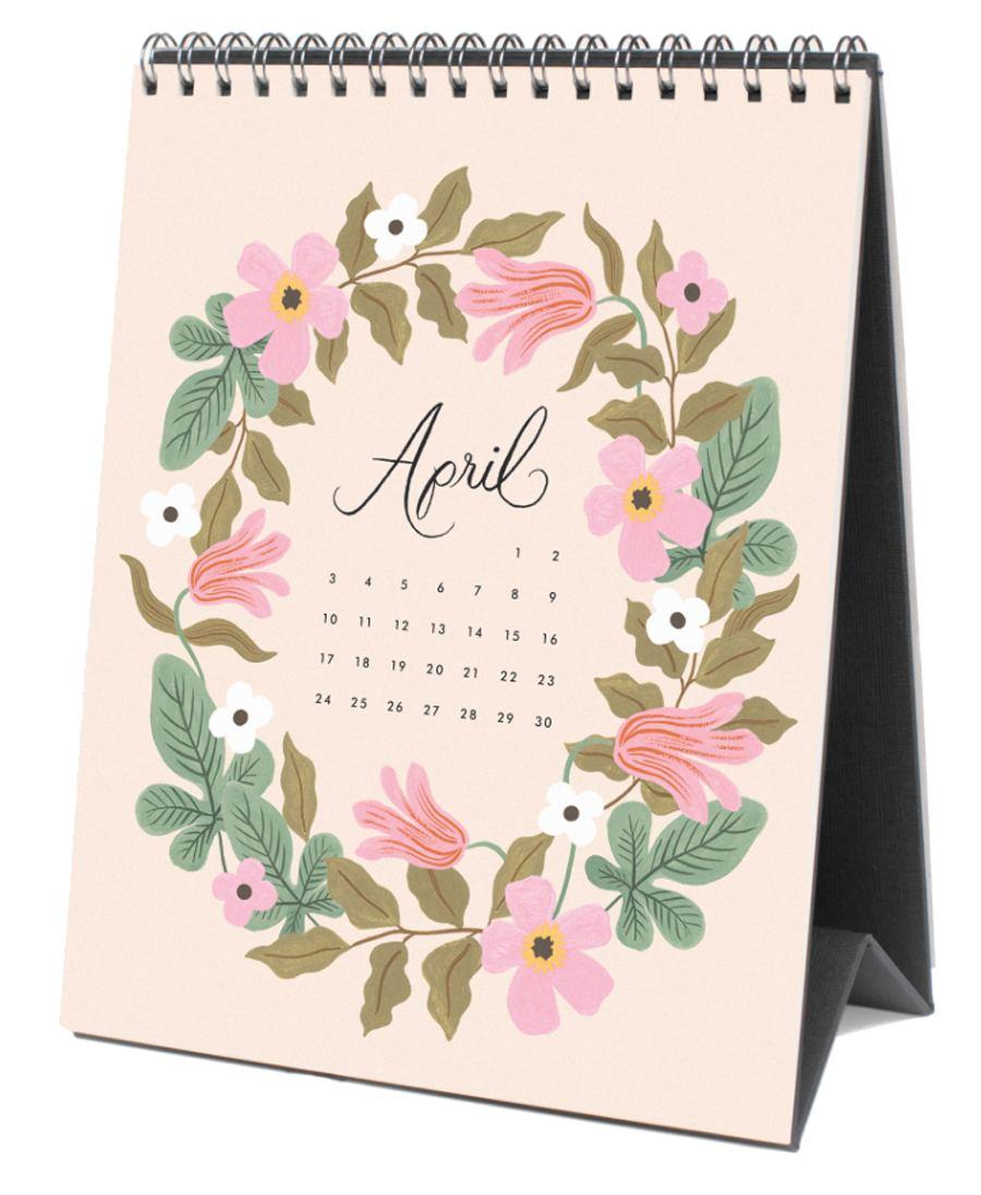 2022 Wild Garden Tischkalender