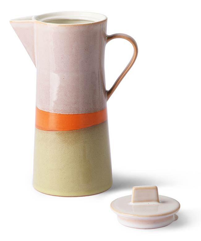 Ceramic 70's Kaffeekanne