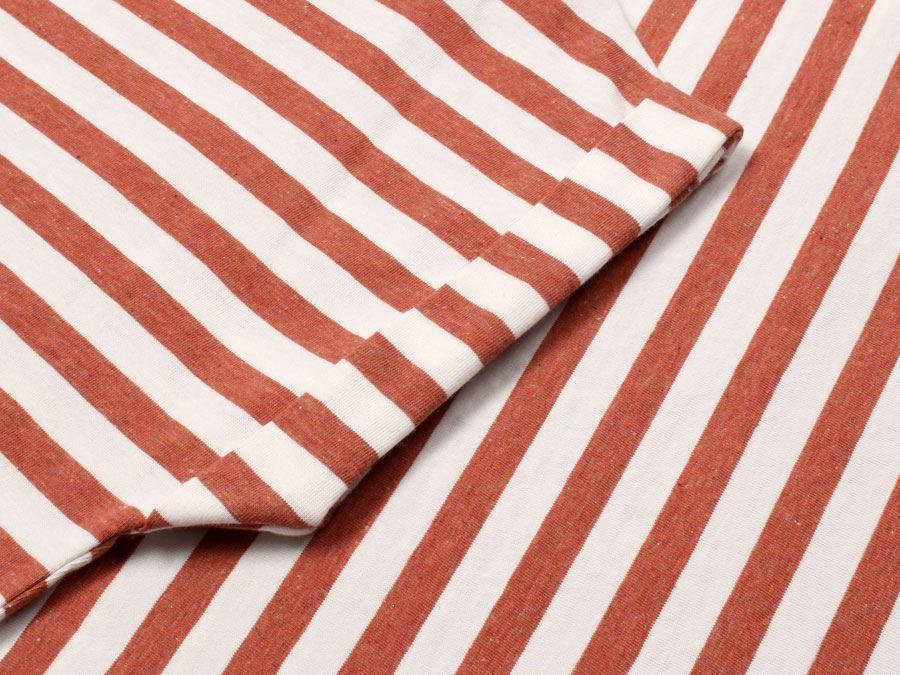 Bell Red Melange-Off White Shirt